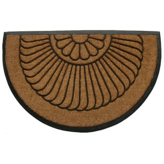 Tuff Brush Coir Rubber Door Mat Shell (24 x 36 inches)|https://ak1.ostkcdn.com/images/products/7316023/Tuff-Brush-Coir-Rubber-Door-Mat-Shell-24-x-39-P14785387.jpg?impolicy=medium