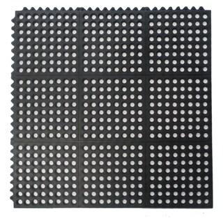 Natural Rubber Mat Interlocking Flooring (36 x 36)