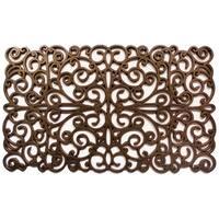 Prestige Natural Rubber Bronze Finish Door Mat (18 x 30)