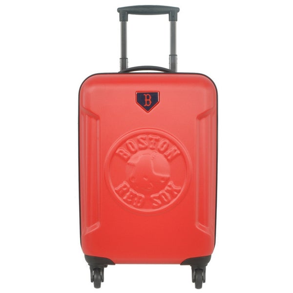 Boston Red Sox MLB 20-inch Hardside Spinner Carry on Luggage Upright