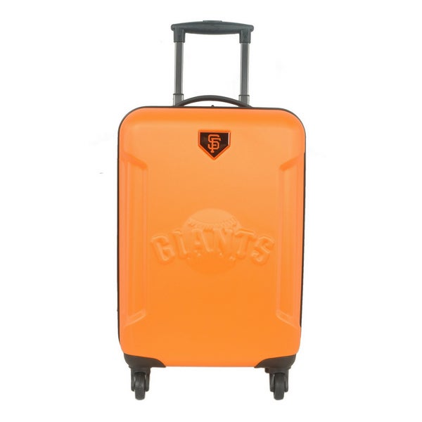 San Francisco Giants MLB 20-inch Hardside Spinner Carry on Luggage Upright