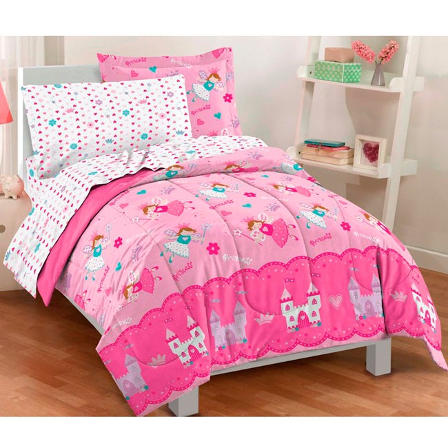 Dream Factory Magical Princess Twin-size 5-piece Bed in a...
