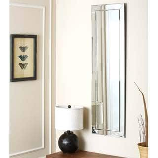 Abbyson Loft Rectangle Wall Mirror - Silver|https://ak1.ostkcdn.com/images/products/7316214/P14785524.jpg?impolicy=medium