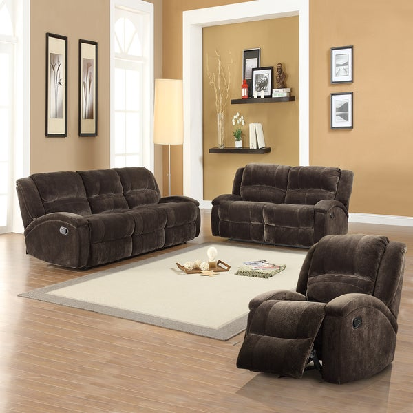Bollington 3-piece Microfiber Sofa Set