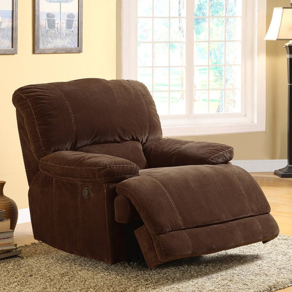 Torrey Coffee Polyester Reclining Chair