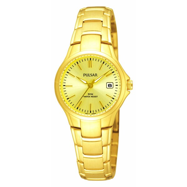 Pulsar Women's Goldtone Stainless Steel Dress Watch