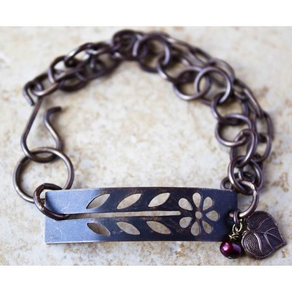 Vintage Stencil Bracelet