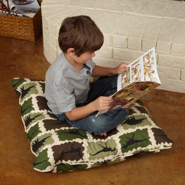 Isabella Dinosaur 28-inch Floor Pillow