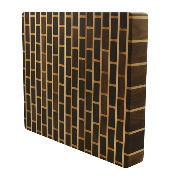 Kobi Brick Wall 3-inch Thick Butcher Block Cutting Board