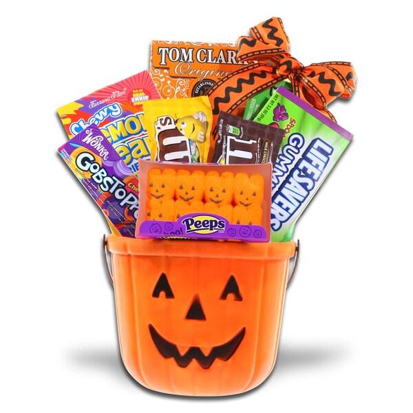 Alder Creek Gift Baskets Trick or Treat Bucket of Goodies