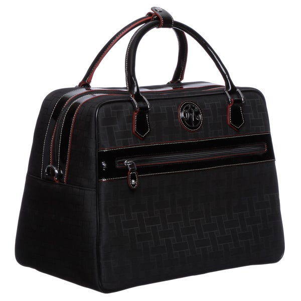 Johnston & Murphy 84-24321 Women's 'Mallory' Black Carry-on Laptop Tote Bag