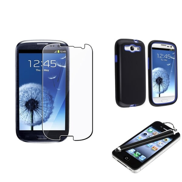 BasAcc Case/ Screen Protector/ Stylus for Samsung© Galaxy S III / S3