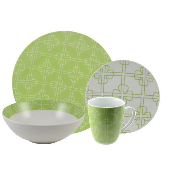10 Strawberry Street 'Chloe' 16-piece Dinnerware Set