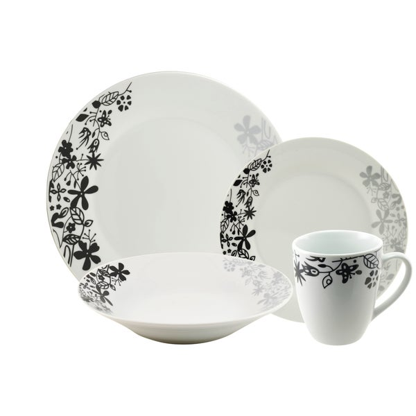 10 Strawberry Street 'Eden' 16-piece Dinnerware Set