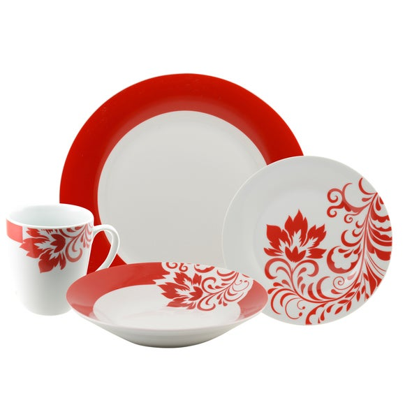 10 Strawberry Street 'Valentina' 16-piece Dinnerware Set