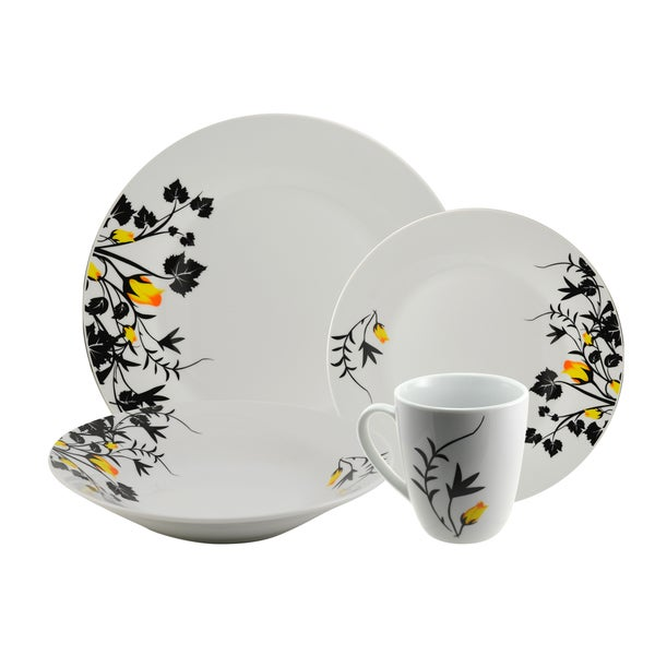 Angelina 16 piece Dinnerware Set
