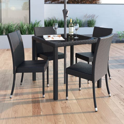 Havenside Home Stillwater Patio Dining Chair (Set of 4)
