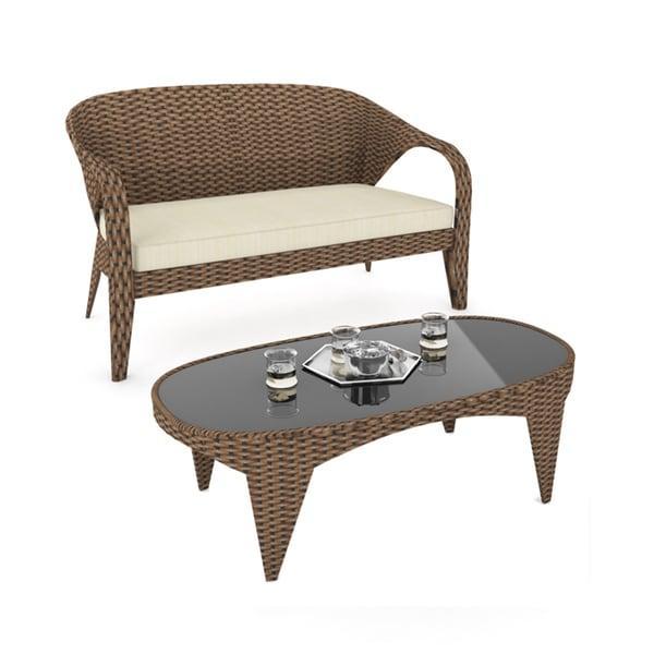 Sonax Harrison Patio Sofa and Table