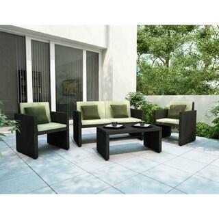 Sonax Creekside 4-piece Patio Lounge Set