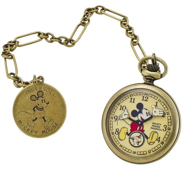 Ingersoll Disney Mechanical Pocket Watch