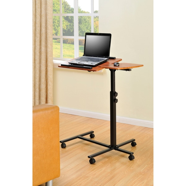 Ameriwood Home Laptop Adjustable Cart