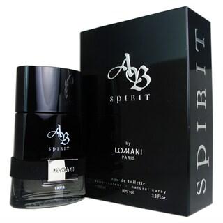 Lomani AB Spirit Men's 3.3-ounce Eau de Toilette Spray