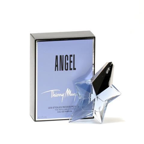 Thierry Mugler Angel Women's 0.8-ounce Eau de Parfum Spray (Refillable)