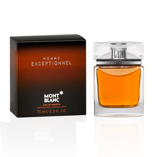 Mont Blanc Homme Exceptionnel Men's 2.5-ounce Eau de Toilette Spray