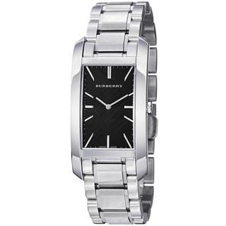 Burberry Women's BU9401 'Heritage' Black Dial Stainless Steel Swiss Quartz Watch