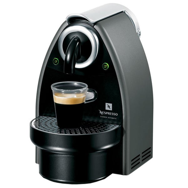 Nespresso Essenza Titanium Automatic Espresso Maker (Refurbished)