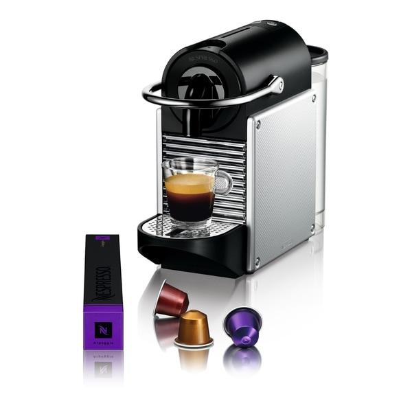 Nespresso Pixie Electric Aluminum Espresso Maker (Refurbished)
