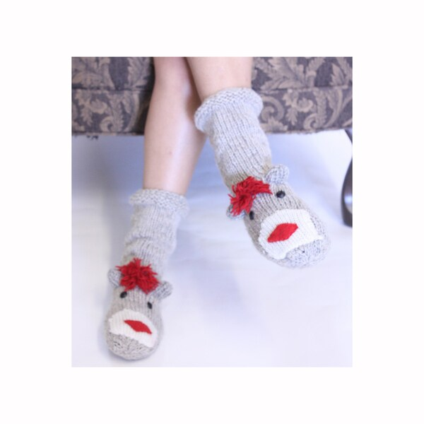 Sock Monkey Socks (Nepal)