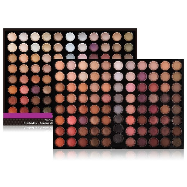 Shop Shany Natural Fusion 88 Color Nude Eyeshadow Palette Free