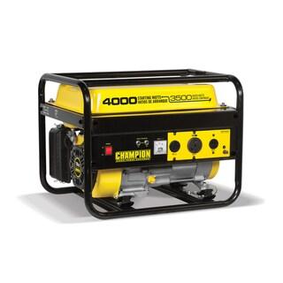 Champion Power Equipment 46596 Portable 4,000 Watt Generator with RV Outlet