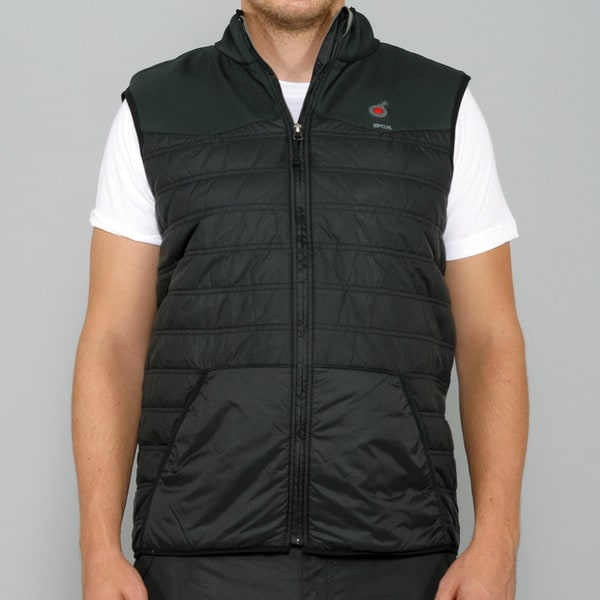 Rip Curl Men's 'Bomb 2' Heated Black Vest