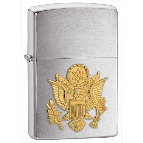 Zippo Army Emblem Lighter