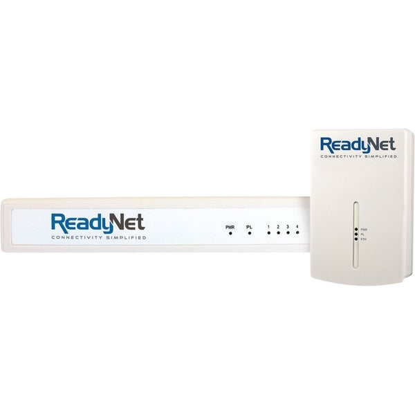 Phonex Broadband HD Network Adapter and HD 4 Port Swith