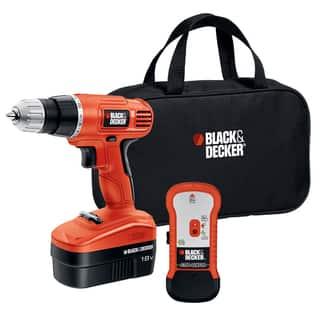 Black & Decker 18V Cordless Drill and Bit|https://ak1.ostkcdn.com/images/products/7321916/P14790317.jpg?impolicy=medium