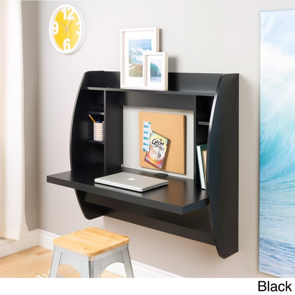 Floating Desk with Storage - Free Shipping Today - Overstock.com