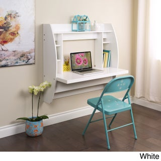 Floating Desk with Storage (3 options available)