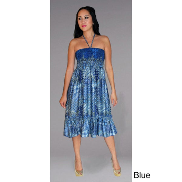 Cover-Up Tube Dress With Ruffle Hem (Indonesia)