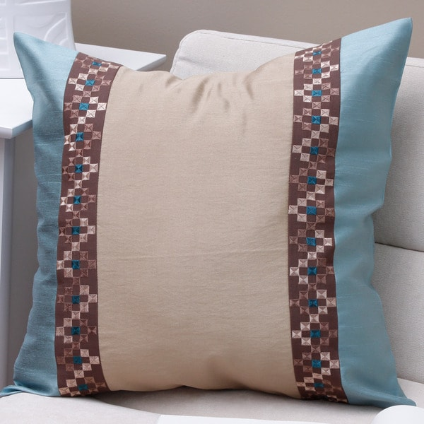 Check Kandhari Pillow Cover (Pakistan)