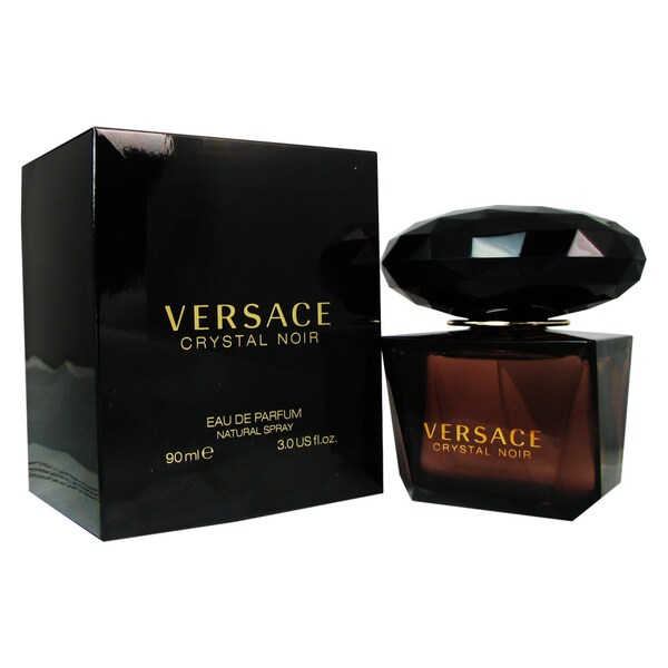 Shop Versace Crystal Noir Women's 3-ounce Eau de Parfum Spray - Free Shipping Today - Overstock ...