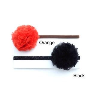 Fall Shabby Chiffon Flower Headband (Set of 2)