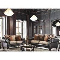 Furniture of America 'Nicolai' 2-piece Sofa Set