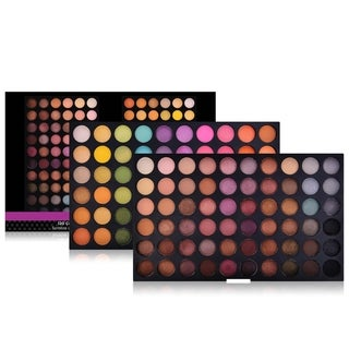 Shany Ultimate Fusion 120-Color Shimmer and Nude Eyeshadow Palette