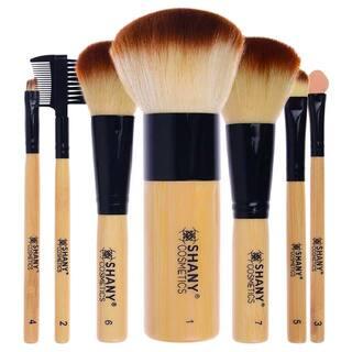 SHANY 7-piece Bamboo Brush Set|https://ak1.ostkcdn.com/images/products/7322096/P14790410.jpg?impolicy=medium