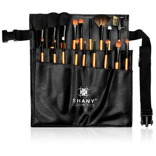 Shany 18-piece Pro Makeup Brush and Apron Set