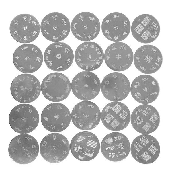 Shany nail art polish stamping manicure image plates with storage shany nail art polish stamping manicure image plates with storage free shipping on orders over 45 overstock 14790440 prinsesfo Image collections
