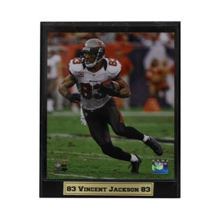 Encore Select Vincent Jackson Tampa Bay Buccaneers Photo Plaque